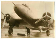 Photo High Speed Soviet Airliner Airplane Ant-35 1937 Russia Tupolev