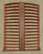 Vintage Case Cast Iron Tractor Grill No 5358a