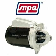 Mpa Starter Motor For 1977-1982 Ford F-100 - Electrical Charging Starting Lg