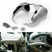 Aluminum Cylinder Head Guards Protector Fit For Bmw R1200gs Adv 2005-2011 Us