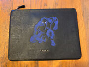 💙 Coach Marvel Black Panther Pouch Bag Ipad Chrome Book Holder Clutch Nwt Gift