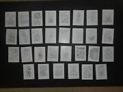2019 Topps Wacky Packages Old School Series 8 Complete Pencil Rough Sketch Set