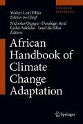 African Handbook Of Climate Change Adaptation English Hardcover Book Free Ship
