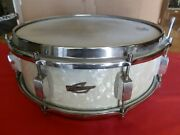 Vintage Trixon White Marine Pearl Snare Drum Germany Buddy Rich Wmp Awesome Drum