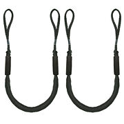 4-5.5 Ft Bungee Dock Lines Absorb Shock Rope Boat Accessories