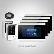 Homsecur 7 Wired Hands-free Videoandaudio Home Intercom With Recording And Snapshot