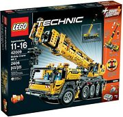 Lego Technic 42009 Mobile Crane Mk Ii Container Stacker Truck Retired Product