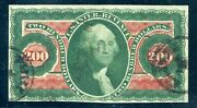 Us Scott R102a Used-f-vf W/ Pse Cert Crease And Tiny Tear 7/12/21 Gp