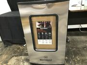 Masterbuilt Mb20074719 Vertical Electric Backyard Stainless 40 Meat Smoker New