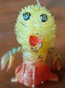 Vintage 1967 Topps Oily Ubber Ugly Monster Uglies Jiggler Al Yellow/red Combo