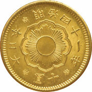 New 10-yen Gold Coin 1891 Ministry Of Finance Beauty Product A / Id24538 Wit
