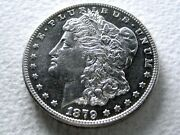 1879-s Morgan Dollar 2nd Rev Of And03978 Lustrous Semi-pl Proof-like 14-k