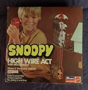 Monogram Mattel Snoopy High Wire Act With Woodstock 6661 C. 1971 Model Kit
