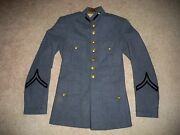 Vtg Wwii 2 Ww2 Era Us Army Mens Valley Forge Military Field Coat Uniform Size 36
