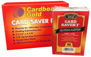 20000 10 Cases Card Saver I 1 Semi Rigid Sports Card Holders Graded Submits
