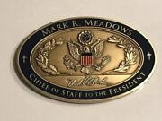 Chief Of Staff Mark Meadows Donald J Trump Challenge Coin