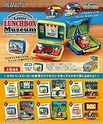 Snoopy And Woodstock Little Lunchbox Museum Box Product All 6 Set From Japan