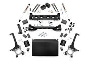 Rough Country 4 Lift Kit Fits 2016-2020 Tundra   V2 Monotube Shocks   Knuckle