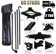 Spare Tire Tools Kit Scissor Jack W/handle+ Lug Wrench For 2004-2014 Ford F-150