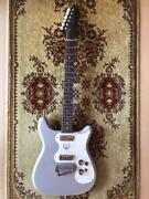 Epiphone 1965 Olympic Mod Silver Vintage Electric Guitar Japan