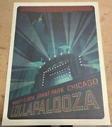 Music Posters Lollapalooza Grant Park Chicago 8/1/2014