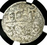 Carolingians. Charles The Simple. King Of West Francia, 898-922, Ngc Vf Details