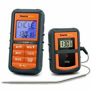 Wireless Bbq Meat Thermometer For Grilling Smoker Oven Kitchen Turkey Remote