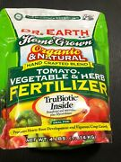 Dr. Earth Organic Tomato, Vegetable And Herb Fertilizer Poly Bag 4 Lb 2pk