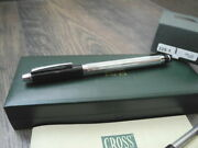 Cross Metropolis Rollerball Pen Black And Chrome  New In Box Made In Usa