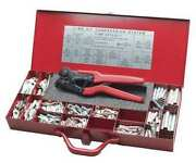 Burndy Y1mrkit 17.35 Crimper And Connector Kit 16 To 4 Awg