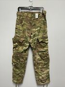 Us Army Combat Trousers Pants With Knee Slots Mulitcam Ocp Small Short Nwot