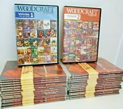 Woodworkers Journal Dvds Techniques Project Table Saw Furniture Woodcraft Cd Lot