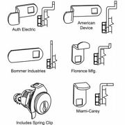 Zoro Select 97-75-hl1 Mailbox Lock,for 4c Pedestal Mailboxes
