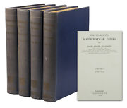 Mathematical Papers Of James Joseph Sylvester First Edition 1904 4 Vols