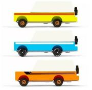 Candylab Wooden Toy Car Vintage Style Collectible Candycar Mules Trucks New