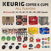 Coffee Pods K Cups Capsules 40 50 72 80 Or 200 Count Packs Keurig All Flavor Lot