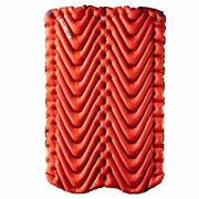 Klymit Insulated Double V Sleeping Pad 2 Person Double Wide 47 Inches Lightwe...