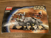 Lego Star Wars At-te 4482 Kids Toy 8 -12 Years Old / With Box / 3 Parts Missing