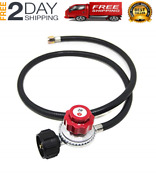 High Pressure Propane Hose Adapter Coleman Road Trip Grill Lp Tank Camping Stove