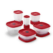 Rubbermaid Easy Find Vented Lids Food Storage Containers, 40-piece Set