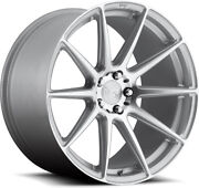 Alloy Wheels 21 Niche Essen Silver Polished Face For Bmw 5 Series [f11] 10-16