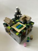 Lego Minecraft Micro World The Village 21105 Used Complete Set Open Box Manuals