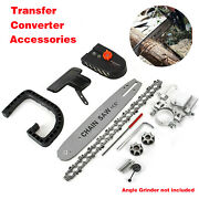 11.5and039and039 Electric Chainsaw Stand Bracket Set Woodworking Cutting Polishing Tool