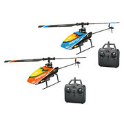 4 Channel Mini Rc Helicopter 6-axis Gyro Brushed Motor Flybarless Remote Control