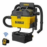 Portable 6 Gallon 5 Horsepower Wall-mounted Garage Wet Dry Vacuum Cleaner