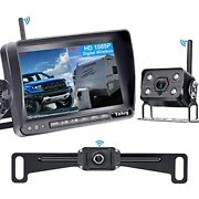Wireless Backup Camera For Rv Hd 1080p,7 Inch Dvr Monitor With Car/truck Camera+