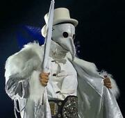 Marty Scurll Admission Plague Mask White Marty Scurll