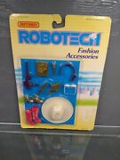 Vintage Matchbox Robotech Fashion Accessories Collectible New Sealed On Card