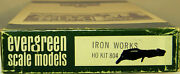 Ho Scale Evergreen Scale Models 804 Iron Works Kit