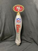 San Francisco Sf 49ers Coors Light 12 Beer Tap Handle Rare Free Ship